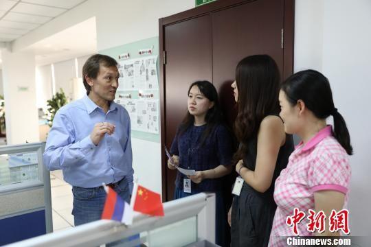 [新疆今日新闻]今日哈萨克斯坦通讯社总编辑参访中国新闻社