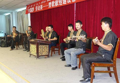 托克逊中国梦·劳动美-赞歌献给建设者慰问