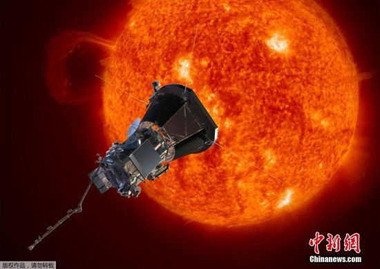 美国首次启动接触太阳计划