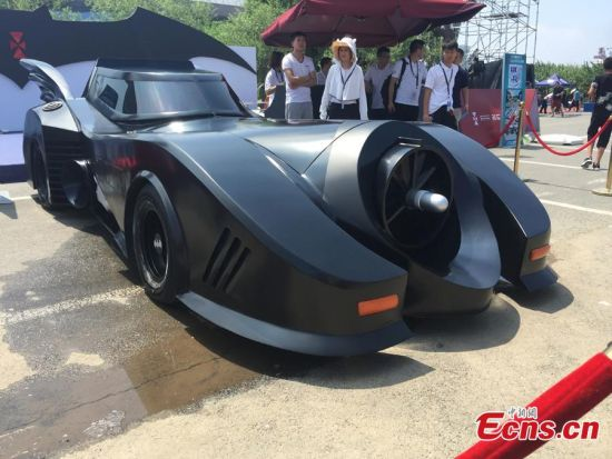 Batmobile star of Changchun auto expo