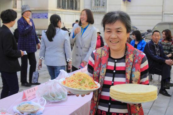 新疆哈密社区举办厨艺比拼